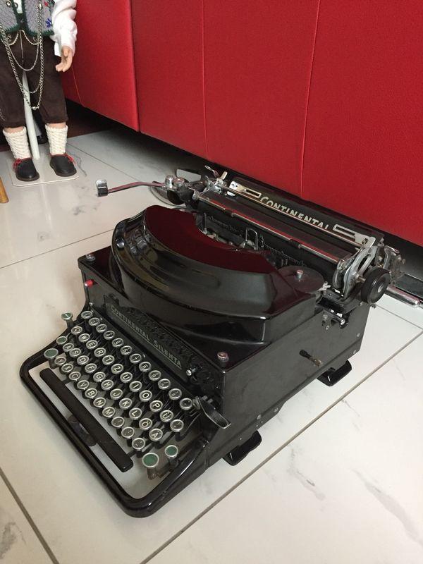 Schreibmaschine Continental Silenta