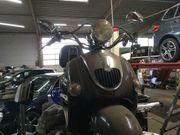 Firenze Retroroller Motor läuft geht