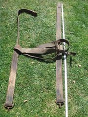 Altes Rückzeug für Pferdegeschirr für