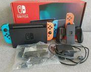Nintendo Switch Neon Joy-Con Console Complete