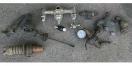 Geräte, Maschinen - historische Armaturen und Manometer