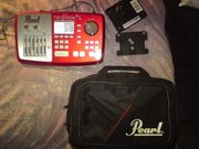 E-Drum Soundmodul Pearl Red Box