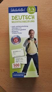 Schülerhilfe Lernkarteikarten Deutsch 3 -4