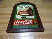 Coca Cola Holzbild