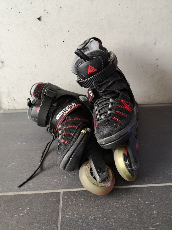 Tolle Inline Skates K2 Größe