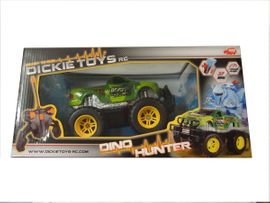 Kinderfahrzeuge - Dickie RC Dino Hunter grün