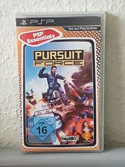 Super PSP Spiel Pursuit Force