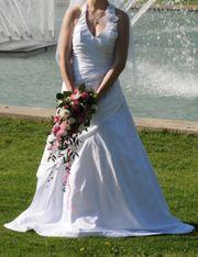 Hochzeitskleid Gr 36 mit komplettem
