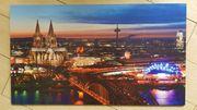 Stadt Köln BILD KUNSTDRUCK - AUF