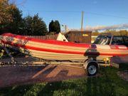 RIB Festrumpf-Schlauchboot Narwhal 550 Yamaha