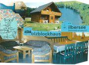 Urlaub im Blockhaus am Silbersee