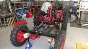 Oldtimer Traktor Lindner