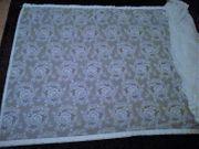 Weiße Gardine 5 3 96