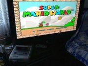 Super Nintendo Konsole mit spiel