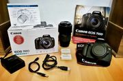 Spiegelreflex Canon EOS 700D inkl