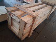 Paletten Kisten als Brennholz