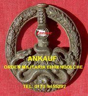 Ankauf München Orden Ehrenzeichen Militaria