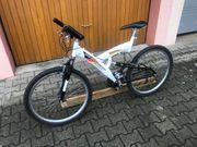 Mountainbike 26 Zoll Farbe weiß