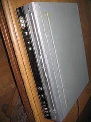DVD VHS-Player Kombination silber von