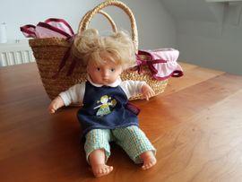 Puppen - Götz Puppe Mini Muffin mit