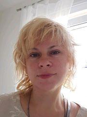 nette junge Frau aus Russland