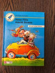 Buch Hase Flitz macht Stress