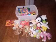 Spielsachen zu verschenken