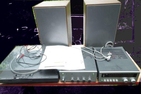 Stereoanlage aus Nachlass