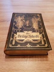 Heilige Schrift Alte Familienbibel mit