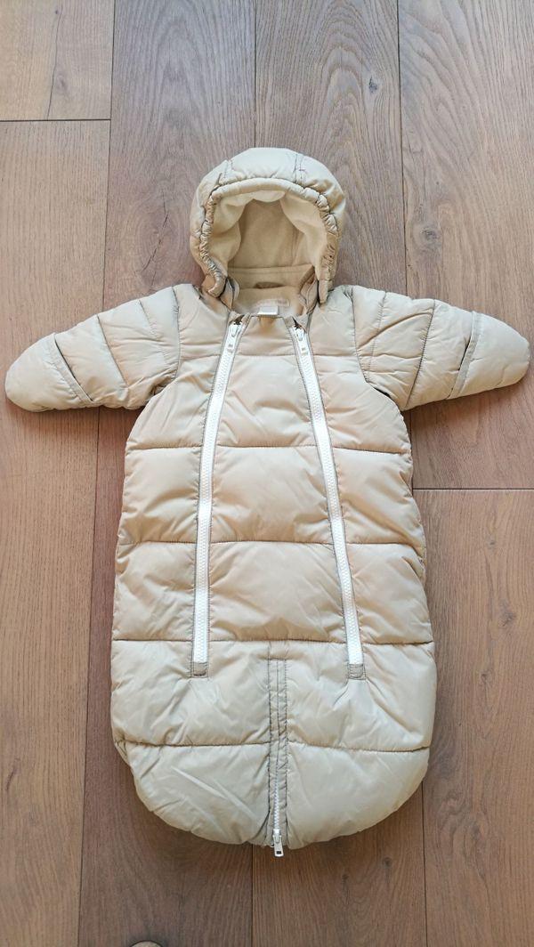 2in1 Overall und Fußsack Schneesack