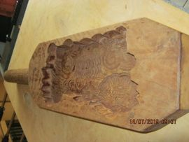 Ein altes Holz Buttermodel: Kleinanzeigen aus Erftstadt Gymnich - Rubrik Sonstige Antiquitäten