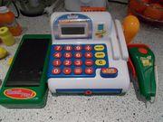 Spielkasse für Kaufladen mit elektr