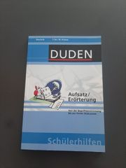 DUDEN Aufsatz Erörterung Deutsch