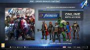 Marvel s Avengers Vorbesteller Bonus
