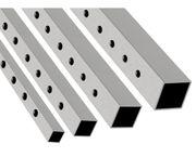 Gelochte Eisenrohre vierkant oder rund