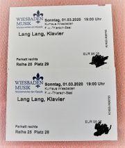 Konzertkarten Lang Lang Wiesbaden 1