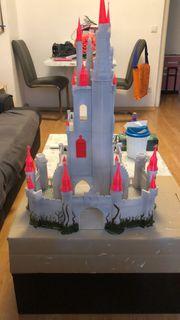 Angefangenes Märchenschloss aus 3D-Drucker