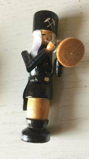 Bergmann Holzfigur 9cm aus dem