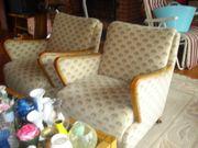 Couch und 2 Sessel aus