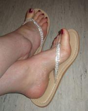 sexy FlipFlops High Heels und