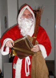 Nikolaus Weihnachtsmann Pelzmärtel besucht Ihre