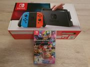 Nintendo switch mit Mario Kart