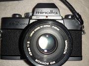 Minolta Spiegelflexcamera