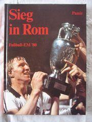 Fußball EM 1980 Sieg in