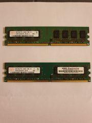Arbeitsspeicher Kit 4GB Hynix DDR2