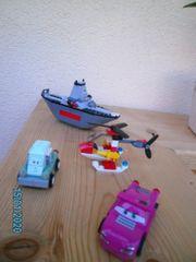 Lego Schiff Hubschrauber und 2