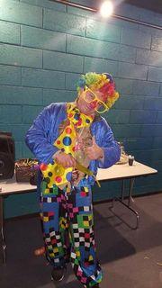 Clown zum Kindergeburtstag oder anderen