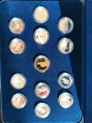 Verkaufe Geschenk Münzen Silber