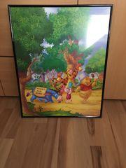 Winnie-Puuh-Poster gerahmt