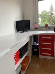 Schreibtisch Rot Weiss